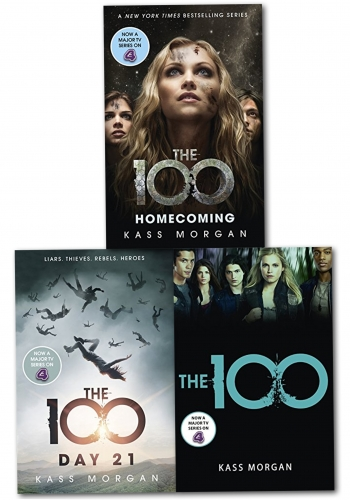Kass Morgan 100 Series 3 Books Collection Set (The 100, The 100: Day 21, Homecoming: The 100) by Kass Morgan