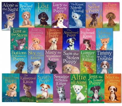 Holly Webb 26 Books Collection Set Puppy and Kitten Childrens Sophy Williams NEW by Holly Webb