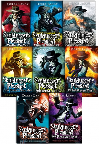 Skulduggery Pleasant Derek Landy 8 Books Set Collection Last Stand of Dead Men by Derek Landy
