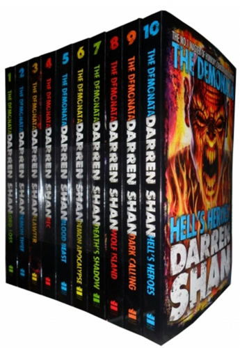 Darren Shan Demonata Collection 10 Books Set Pack ( Demon Thief, Lord Loss, Slawter and more) by Darren Shan