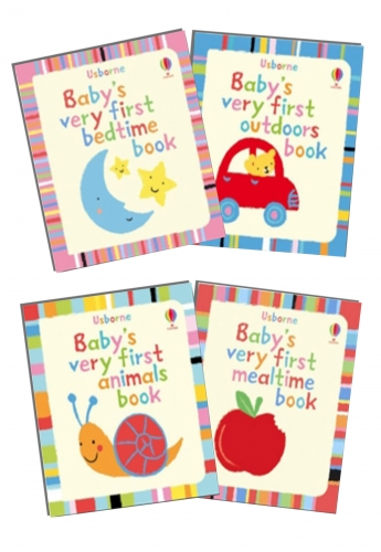 Usborne Baby's Very First Books 4 Books Set by Stella Baggott