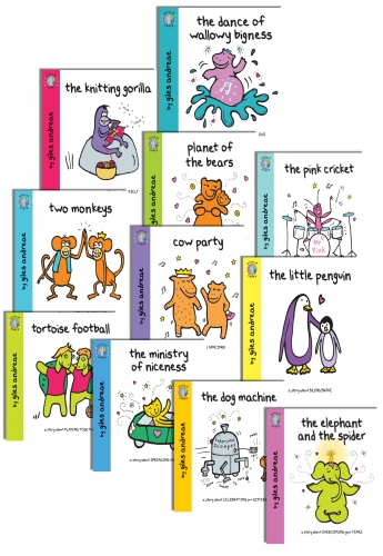 Giles Andreae World of Happy Collection 11 Books Set by Giles Andreae