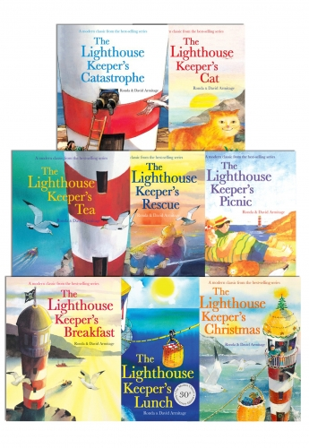 The Lighthouse Keepers Series Collection 8 Books Set by Ronda Armitage (Author), David Armitage (Illustrator)