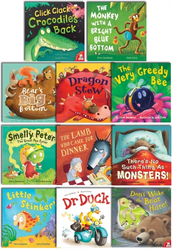 Steve Smallman's Children Picture Flat Collection 11 Books Set by Steve Smallman
