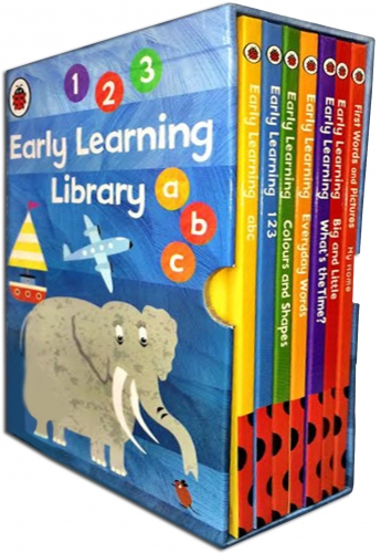 Childrens Early Reading Learning Library 7 Collection Books Box Set