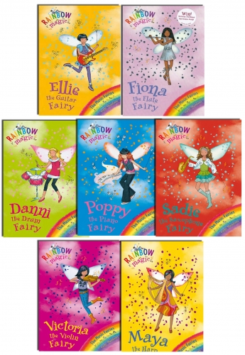 Rainbow Magic Series 10 Music Fairies - 7 Books Set Pack Collection (Books 64-70) by Daisy Meadows