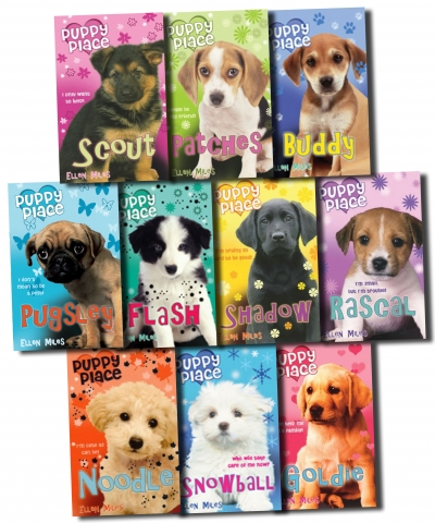 Puppy Place Ellen Miles 10 Books Collection Set 9789999378116