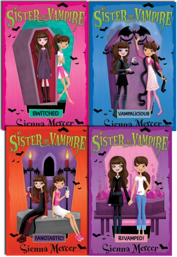My Sister the Vampire Quartet 4 Books Collection Set by Sienna Mercer