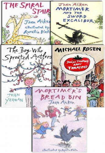 Quentin Blake Collection 5 Books Set by Various, Quentin Blake (Illustrator)