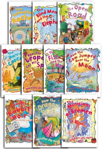 Really Silly Stories 10 Books Set Collection School Childrens Picture Stories by Miles Kelly