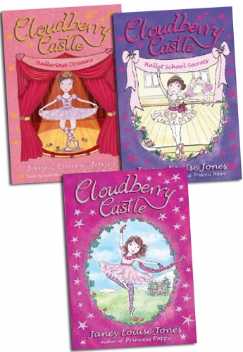 Cloudberry Castle Series 3 Books Collection Set by Janey Lousie Jones Kelpies by Janey Lousie Jones