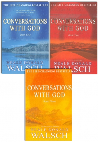 Neale Donald Walsch Conversations with God Trilogy 3 Books Collection Set Book 1, Book 2, Book 3 by Neale Donald Walsch