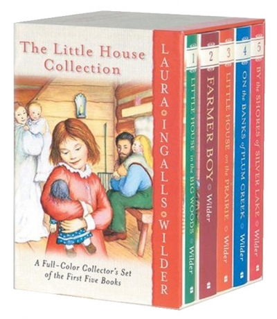 Little House 5 Books Collection Packed Boxed Set by Laura Ingaals Wilder
