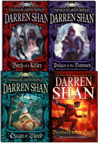 Darren Shan Series Collection The Saga of Larten Crepsley 4 Books Set by Darren Shan