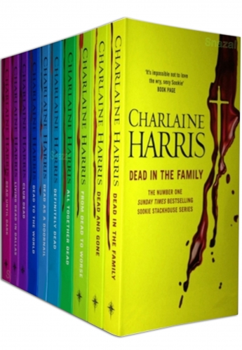 Sookie Stackhouse Series True Blood 10 Books Collection Set by Charlaine Harris - Dead to the World, Dead as a Doornail, Definitely Dead Etc by Charlaine Harris