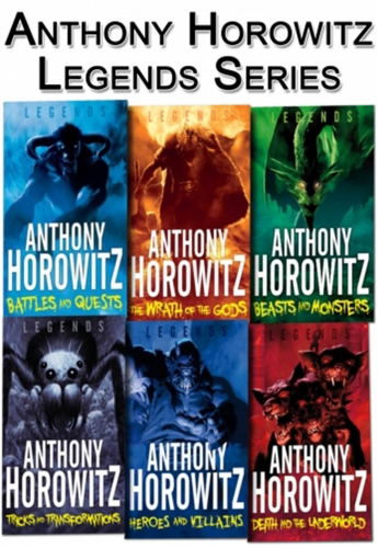 Anthony Horowitz Legends 6 Books Collection Set by Anthony Horowitz