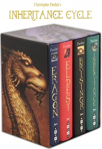 Inheritance Cycle Collection Christopher Paolini 4 Books Box Set HB Pack Eragon by Christopher Paolini