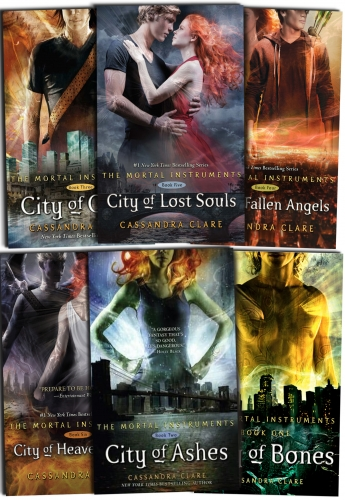 Cassandra Clare Set 6 Books Collection Mortal Instruments ...