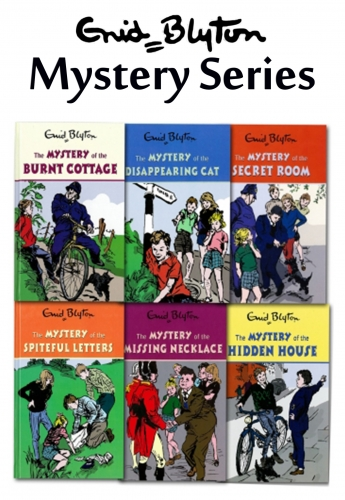 Enid Blyton Mystery series 6 Books Collection set, Childrens classic books by Enid Blyton