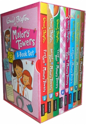 Enid Blyton Malory Towers 8 Books Collection Box Set