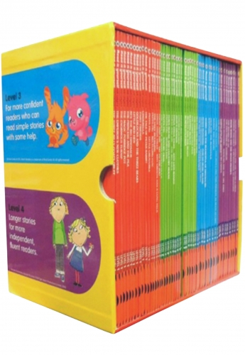 Read it Yourself with Ladybird Collection 50 Books Box Set Pack Level 1 To 4 by Ladybird