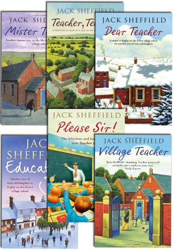 Jack Sheffield Collection 6 Books Set Mister Teacher, Village, Dear, Please Sir by Jack Sheffield