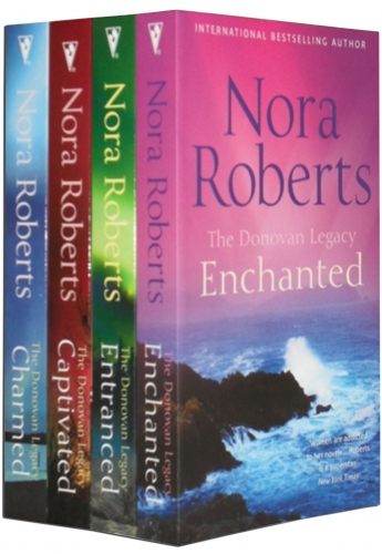 Nora Roberts The Donovan Legacy Series Collection 4 Books Set by Nora Roberts