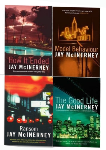 Jay McInerney 4 Books Collection Set by Jay McInerney