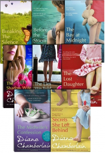 Diane Chamberlain Collection 8 Books Set (The Lost Daughter, Before the Storm, Secrets She Left Behind, The Bay at Midnight, Breaking the Silence more by Diane Chamberlain
