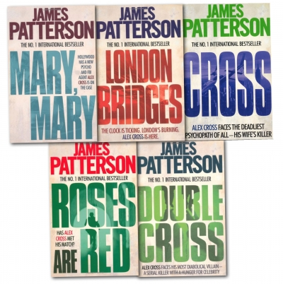 James Patterson Collection 5 Books Set Pack Cross, Mary, Mary by James Patterson