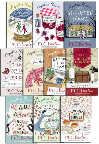 Agatha Raisin Collection 10 Books Set Pack by M.C. Beaton