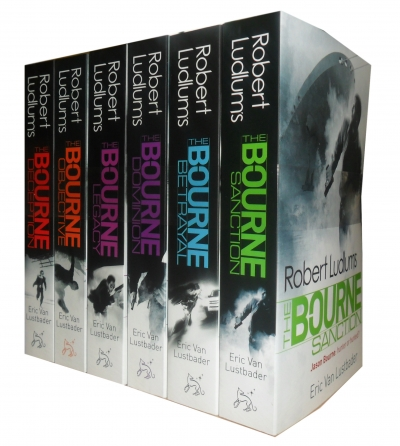 Robert Ludlum The Bourne Series 6 Books Set Pack Legacy Collection by Robert Ludlum