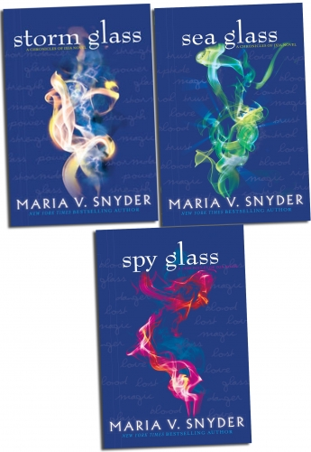 Opal Cowan Trilogy Collection Maria V. Snyder Series 3 Books Set (Spy Glass, Storm Glass, Sea Glass) by Maria V. Snyder