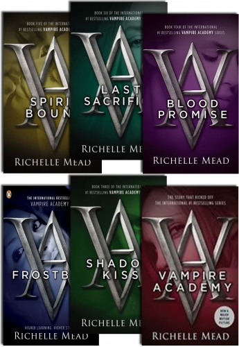 Vampire Academy Series By Richelle Mead (6 Books Collection Set) by Richelle Mead