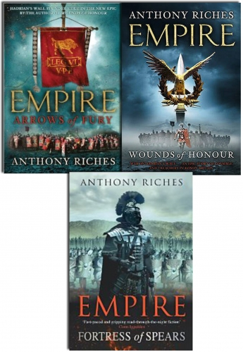 Anthony Riches Empire Series Collection 3 Books Set by Anthony Riches