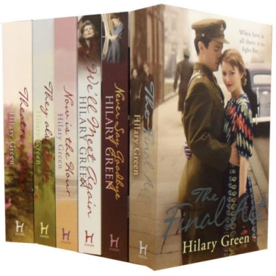 Follies Series Collection Hilary Green 6 Books Set by Hilary Green