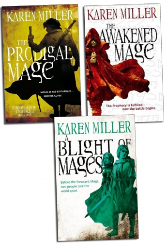 Karen Miller 3 Books Collection Set by Karen Miller