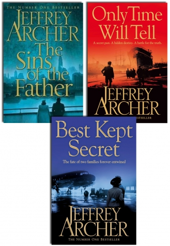 The Clifton Chronicles Collection Jeffrey Archer Collection 3 Books Set by Jeffrey Archer
