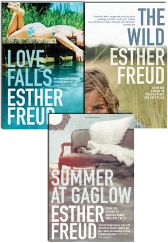 Esther Freud 3 Books Collection Pack Set Summer At GAGLOW, Love Falls, The Wild by Esther Freud