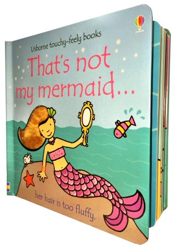 Thats Not My Mermaid (Touchy-Feely Board Books) by Fiona Watt, Rachel Wells