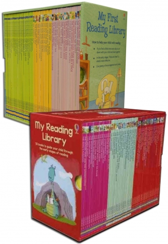 Usborne Very First Reading Library 100 Books Collection Set School Reading Pack by Usborne