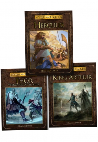 Warrior Myth Legend 3 Books Collection Set by Various