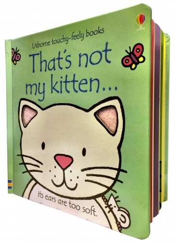Thats Not My Kitten Touchy-Feely Board Books by Fiona Watt