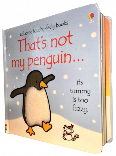 Thats Not My Penguin (Touchy-Feely Board Books) by Fiona Watt