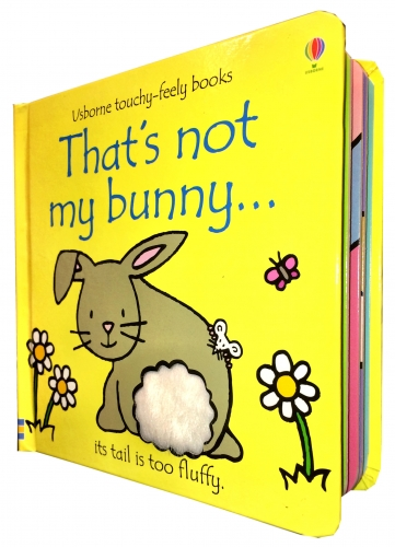 Thats Not My Bunny (Touchy-Feely Board Books) by Fiona Watt, Rachel Wells