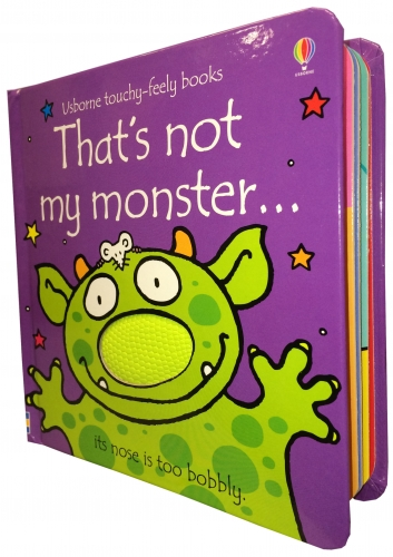 Thats Not My Monster Touchy-Feely Board Books by Fiona watt