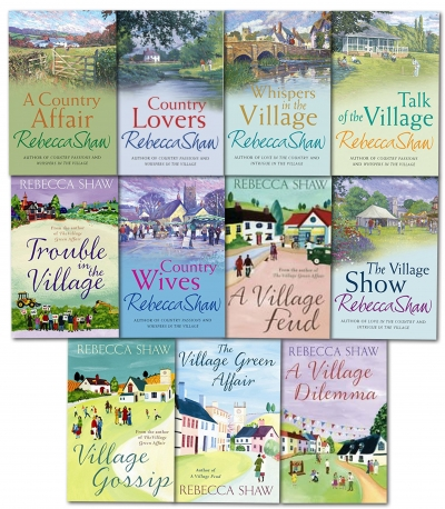 Rebecca Shaw Village and Country Collection 11 Books Set by Rebecca Shaw