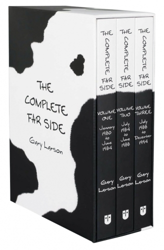 The Complete Far Side Collection 3 Books Box Set by Gary Larson