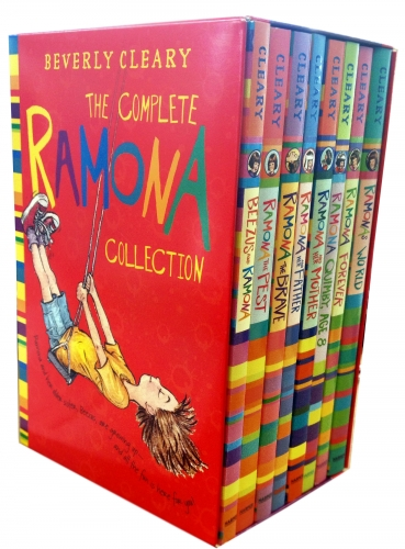 The Complete Ramona Collection Beverly Cleary 8 Books Box Set by Beverly Cleary