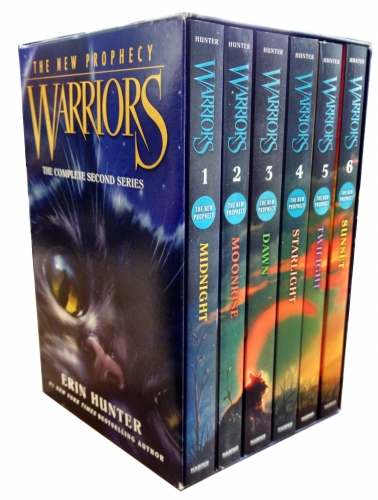 Warriors The New Prophecy Collection Erin Hunter 6 Books